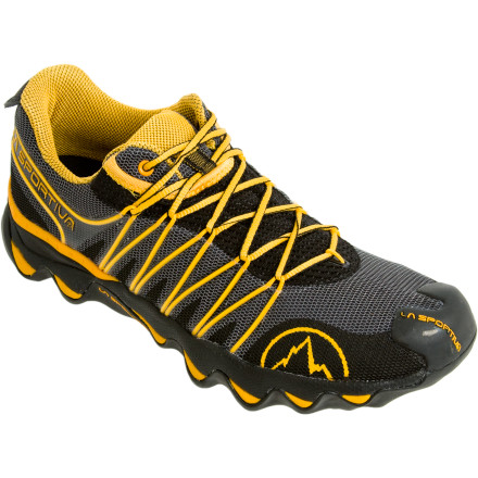 Fitness With it's improved cushioning and MorphoDynamic sole technology, the La Sportiva Quantum Trail Running Shoe definitely performs best when it matters most. Thanks to a unique construction of the sole, polyurethane foam fills small cavities to create a unique shock absorbing layer. This proprietary MorphoDynamic technology provides cushioning that makes even rocks seem soft so you know that you get the best in comfort for your next race or fun run. - $68.72