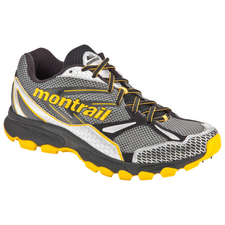 Fitness Pound the trail, pound the pavement, or mix it up to your liking with the Montrail Badrock Trail Running Shoe. No matter where your feet take you, this versatile, lightweight shoe provides exceptional stability and cushioning for both long- and short-distance runs. - $62.97