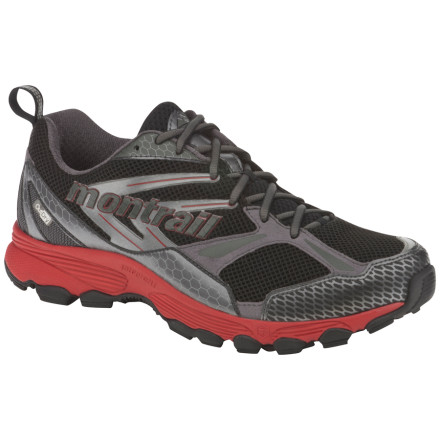 Fitness Designed to be a lightweight, versatile trail runner with plenty of cushioning, the Montrail Badrock OutDry Shoe also features a waterproof breathable OutDry membrane to shield your toes from sloppy trails. - $83.97