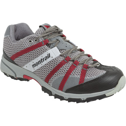 Fitness Montrail's Mountain Masochist II Trail Running Shoe makes no bones about leg-loathing mountain excursions. You don't run because it's easy (if it were easy, it would be walking). You run for the adventure and the rush, and this pain-loving shoe utilizes savvy mountain tech to get you from A to B. - $89.96