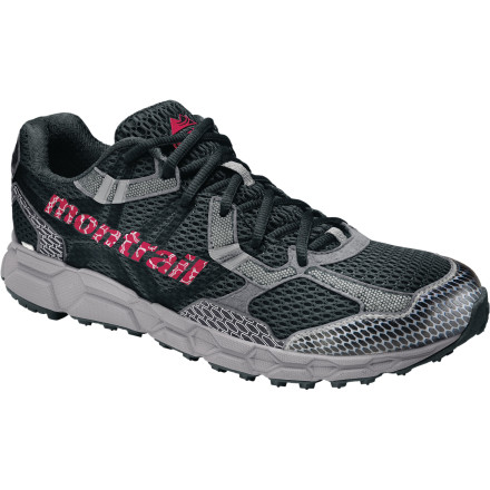 Fitness Challenge yourself on rock-riddled trails and wet mountain passes when you're wearing the Men's Bajada OutDry Trail Running Shoe. Montrail shaped this neutral off-road shoe with a snug midfoot and open toe box and outfitted it with a waterproof breathable membrane to keep your toes dry on wet days. Run trail spring through fall and get all the traction you need. - $123.21