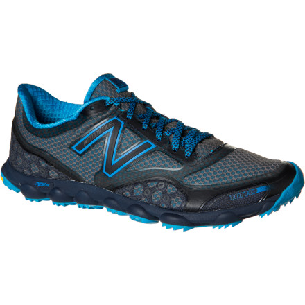 Fitness Lace up the New Balance Men's WT1010 Minimus Trail Running Shoe when you want to train with your foot closer to the trail, without going completely barefoot. Although it's minimalist by nature, this highly responsive shoe does provide a small amount of offset from heel to toe, and it features shock-absorbing Rev Lite foam cushioning for comfort. Just because you want to encourage natural biomechanics doesn't mean you should beat your foot up when you leave the pavement. - $72.57