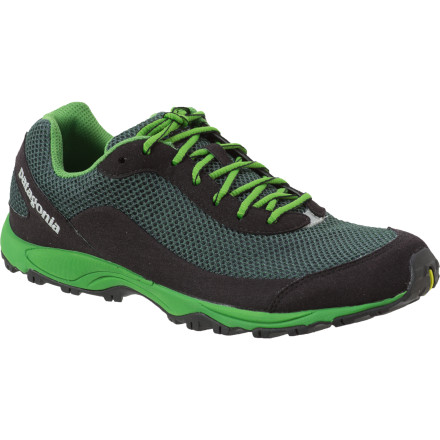 Fitness Rise before the sun with the Patagonia Fore Runner Trail Running Shoe and get your morning training session in while the rest of your town is still pushing their snooze buttons. This lightweight trail shoe delivers minimalist protection without skimping on traction or forefoot padding. - $71.50