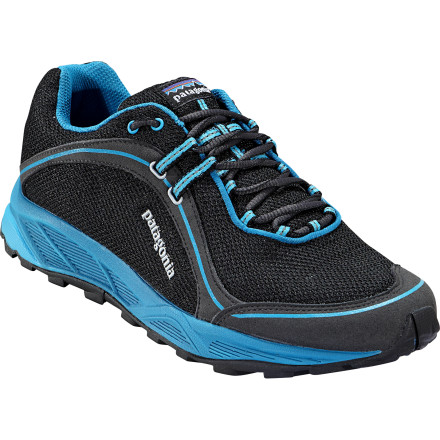 Fitness Patagonia designed the lightweight Mens Tsali 2.0 Trail Running Shoe to tackle warm-weather trail runs with comfort and ease. Weighing in at around 20-ounces per pair, the Tsali comes with a highly breathable air mesh upper, a lightweight EVA footframe and footbed for cushioning, and a sticky rubber outsole for gecko-like traction on all types of surfaces. - $103.50