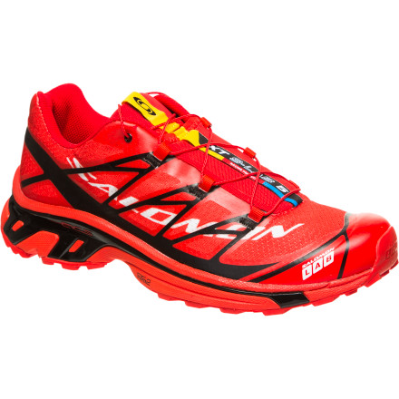 Fitness Century trail races are among the most demanding events out there, which is why Salomon packed its top technology into the Men's XT S-Lab 5 Trail Running Shoe. This performance racer used by several runners on the Salmon pro team combines a super-light, seamless upper with a stable chassis that offers excellent pronation control on rough, uneven trails. - $179.95