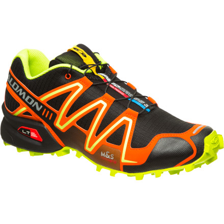 Fitness Backcountry.com teamed up with Salomon to bring you the Men's Speedcross 3 Trail Running Shoe in an exclusive, one-of-a-kind colorway. This shoe is a demon of dirt racing, and there's little about it that isn't designed specifically for speed, traction, and agility. From the aggressive profile to the stable, lightweight chassis, this limited edition shoe will carry you far beyond the pavement and onto the podium. - $124.95