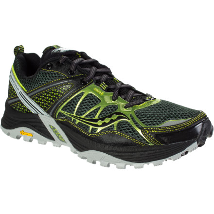 Fitness No amount of ruggedness underfoot can interrupt your running rhythm when you lace up the Saucony ProGrid Xodus 3.0 Trail Running Shoe and get into your groove. Its 4mm heel-to-toe offset and low-profile design enable light and fast strides with plenty of compact cushioning, impact protection, and sticky rubber to secure your steps without risking injuries. - $109.95