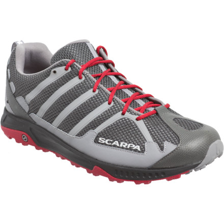 Fitness Long, satisfying alpine loops rely on your ability to get in a groove and let the landscape pass by in a blissful blur of strides. The Scarpa Tempo Shoe provides the cushioning you need for comfort along the rocky trail, while incorporating a semi-minimalist design and using recycled and more planet-friendly materials. - $118.95