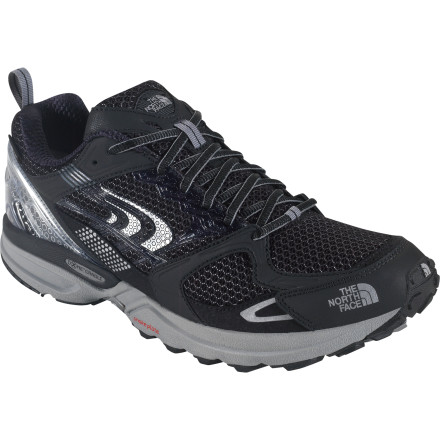 Fitness The North Face engineered the Men's Double-Track GTX XCR Trail Running Shoe with its Terrain Harness design to support medium-arched over-pronators as they traverse rough, uneven terrain. It also included a Gore-Tex XCR insert for those who get after it in any kind of conditions, no matter how wet or muddy. - $86.97