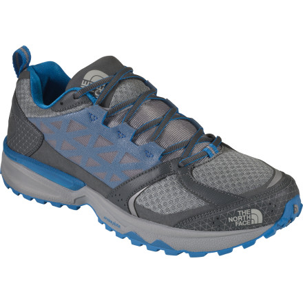 Fitness Slip on The North Face Men's Single-Track II Trail Running Shoe and take your hyperactive pup out for long trail run. The Single Track's Snake Plate technology helps reduce stone bruising while retaining the shoes' flexibility so you can go ahead and cruise down the trail after your dog. - $109.95
