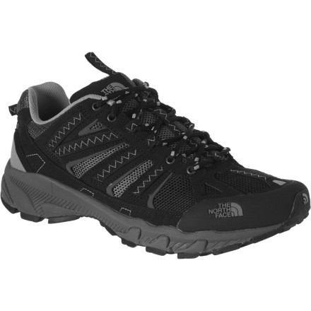 Fitness Slide on The North Face Men's Ultra 50 Trail Running Shoes and give your feet the comfort they've been looking for on the worn path. - $58.47