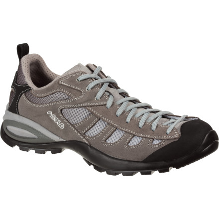 Camp and Hike Whether you're scaling slightly steep red rock to access a viewing point, climbing up a scree field, or taking a short hike on lava rock terrain, let the Asolo Men's Ray Shoe be your companion. - $114.71