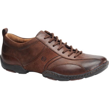 Like that private jet your buddy owns, the Born Shoes Men's Bolt Shoe moves fast. Though, fortunately for you, this shoe looks good when you're on the move and when you're forced into stationary mode at your desk. Versatility and comfortthe Bolt Shoe knows no other way to exist. - $98.96