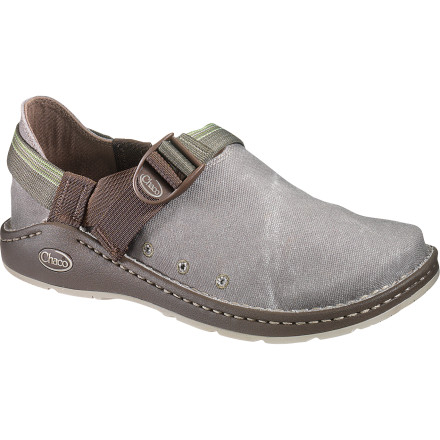 House your toes in luxury all season long with the Chaco Men's Pedshed Canvas Gunnison Shoe. A canvas upper lets your toes breathe when summer is cranking, and a grippy Vibram outsole provides traction during strolls, saunters, and other forms of relaxed ambulation. - $54.98