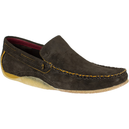 Slip on the Clark's Men's Majorca Shoe and fantasize that you're driving a sporty little convertible around an exotic Mediterranean hot spot. If you're actually lucky enough to be doing just that, this stylish leather slip-on is made for you. If you're not, you can just look the part. - $74.97