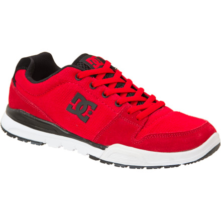 Fitness Tug on Rob Dyrdek's signature Alias Lite Shoe from DC, and hit the ground running. Whether you're hoppin' fences to avoid angry canines or trying to outsprint your buddies to the liquor store so you don't have to pay, the Alias Lite's super-lightweight construction will give you an edge. - $37.50