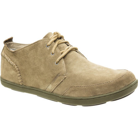 Fitness No need to wait for the rain to lighten up when you have the Olukai Men's Maki Shoes. Water-resistant uppers and all-weather outsoles brave wet weather and heavy raindrops while you run errands. - $88.00