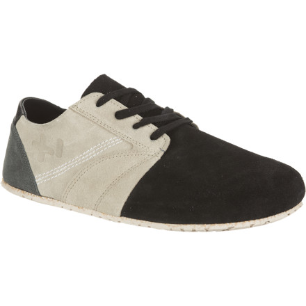 Surf Show the rest of Malibu that you're comfortable enough with your own style choices to drift well beyond the sandal-realm in the insanely comfortable OTZShoes Men's Madlib Suede Shoe. - $47.23