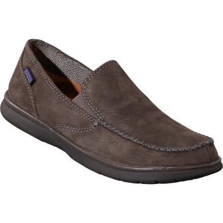Can you imagine a more comfortable shoe than the Patagonia Men's Maui Smooth shoe' Seriously. If you aren't comfortable in these things you probably need foot surgery. Pigskin uppers and liners with gobs of shock-absorby EVA ensure that these shoes will never see the inside of your closet. - $81.00