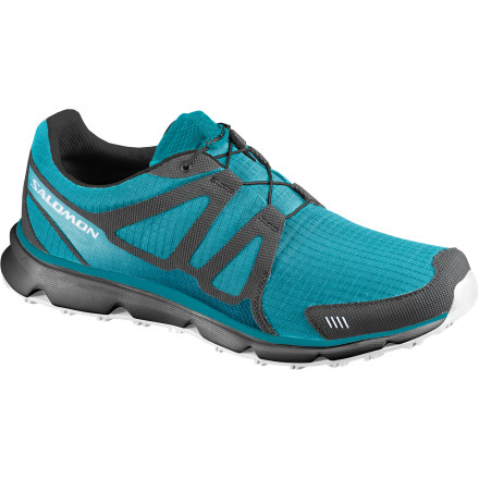 Camp and Hike Stash the Salomon Men's S Wind Shoe in your gym bag or your carry-on, or toss it in your car so you won't go without exercise on long road trips. With moderate cushioning, a quick-lace system, and lightweight construction, this shoe toes the line between your favorite runner and your favorite workout shoe. - $65.97