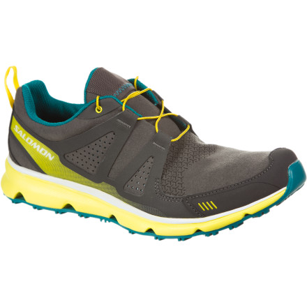 Camp and Hike You practically live in your trail shoes, but when it's time to wander around town or kick back at the house, you need something a little more low-key. That something is the Men's S-Wind Inca Shoe. Salomon made this shoe lightweight, cushy underfoot, and well ventilated so it's the ideal companion for traveling away from home or a variety of everyday adventures closer to your backyard. - $59.98
