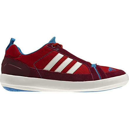 Fitness The Adidas Outdoor Boat Lace DLX Shoes sport a comfy construction and a grippy, multisurface outsole for sure footing while you strut around the deck of your multi-million dollar yachtor just headed down to the corner store to pick up a six-pack. - $63.96