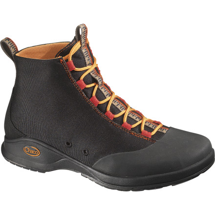 Made for river trips and slot-canyon forays, the Chaco Tedinho Pro Water Boot blends Chaco's legendary functionality and grip with the added protection of high-top construction. - $77.97