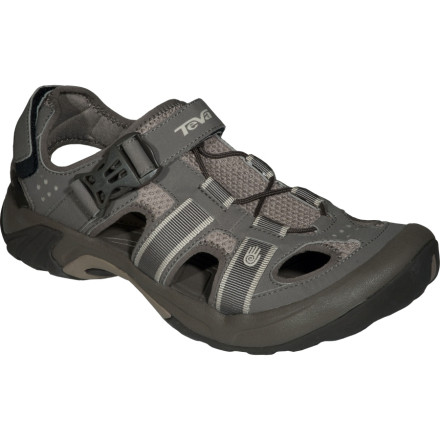 Camp and Hike When your adventures take you back and forth between water and terra firma, the Teva Omnium Water Shoe is a functional alternative to traditional sandals and hiking boots. - $67.96