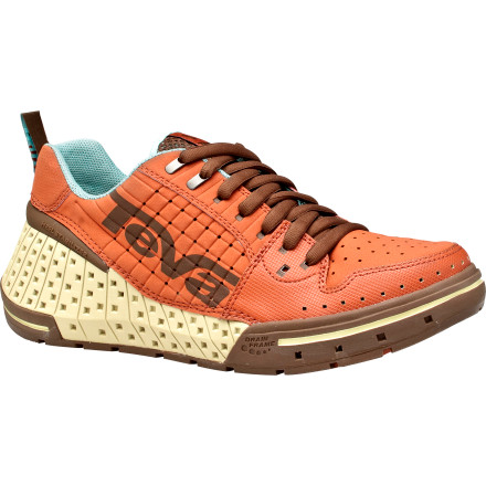 Wake The Teva Gnarkosi was designed with extensive input from professional wake skaters to develop a water shoe that is at home in thigh-deep puddles, in lakes and rivers, and at the bar. - $79.96