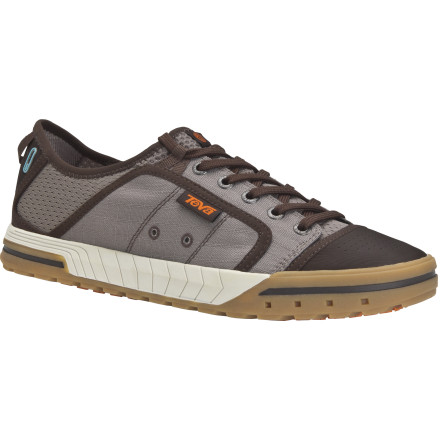 Surf The Teva Men's Fus-ion Shoes let you transition from raft to bar for a celebratory pint of beer in total style and comfort. - $53.97