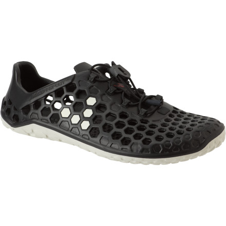 Fitness As the name suggests, the VIVOBAREFOOT Ultra Pure Shoe comes from an amphibious background to fulfill your watersport needs. Go straight from boat deck to dock to ocean jog in this dedicated aqua footwear. - $53.96