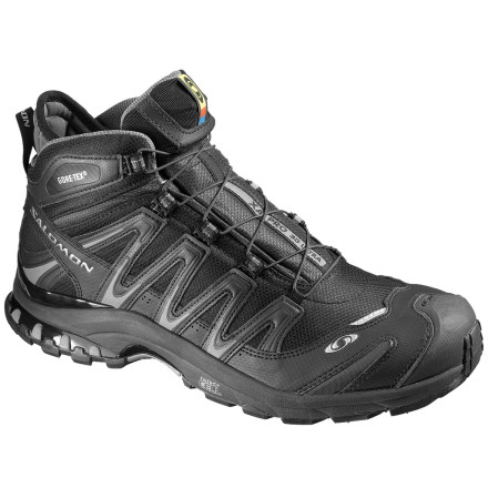 Fitness The Salomon Mens XA Pro 3D Mid GTX Ultra Trail Running Shoe makes light work of puddles, snow patches, stream overflow, wet leaves, and loose rock. These insanely grippy, super waterproof trail shoes provide the protection, comfort, and support you need to cover long distances at high speeds. - $169.95
