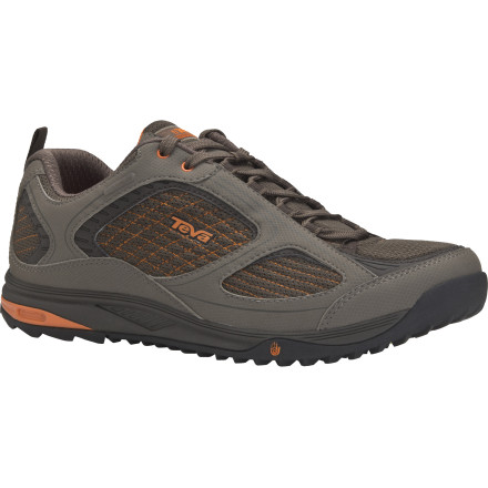 Camp and Hike From wet rocks to dry desert trails, the Teva Royal Arch WP Hiking Shoe gives you the traction and confidence to wander down any spur trail you encounter along your route. A waterproof breathable membrane repels moisture without causing your skin to suffocate. - $54.98