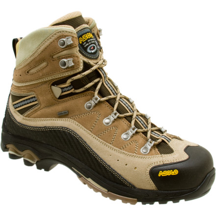 Camp and Hike Kick the great outdoors in the backside when you put on the Asolo Moran GTX Hiking Boot. A water-resistant suede upper and Gore-Tex lining keep the rain and dew out for good, while the Power Lite Asoflex technology is so comfortable that youll never want to return to the car. - $157.47