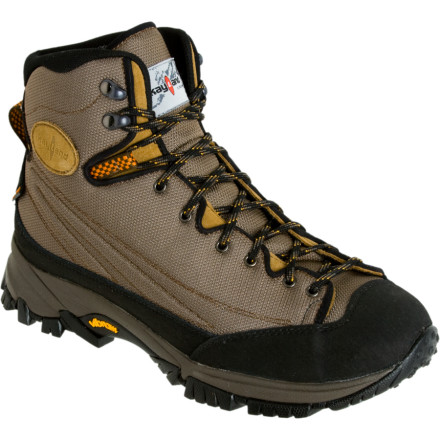 Camp and Hike Slick scrambles, soggy trails, or long treksthe Kayland Mens Vertigo Light Boot will carry you through it all with comfortable feet thanks to a grippy Vibram sole and a waterproof breathable eVent lining. Rugged leather uppers and a tough, supportive shank help you carry a fully loaded weekend pack without sacrificing the agile feel of this medium-volume boot. - $71.98