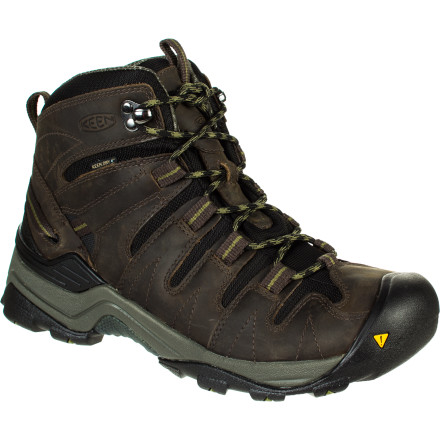 Camp and Hike KEEN designed the Men's Gypsum Mid to provide stability and support on light hikes or when you're just kicking around town. - $139.95