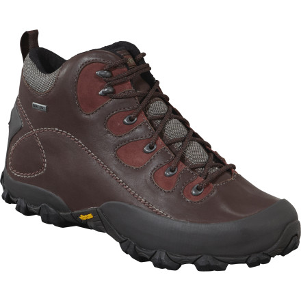 Camp and Hike The Patagonia Nomad GTX Hiking Boot is an earth-friendly boot with a Gore-Tex insert so a little rain won't ruin the fun as you hike, camp, and play in the outdoors. - $110.00