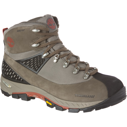 Camp and Hike Your upcoming climb from the logging road to the old forest-service cabin isn't for the weak or fainthearted, and neither is your Timberland Cadion 2.0 Mid GTX Hiking Boot. Built with a waterproof breathable Gore-Tex membrane and an ultra-rugged Vibram outsole, the Cadion is a sure-footed and faithful workhorse that won't let you down when the going gets brutal. - $58.49
