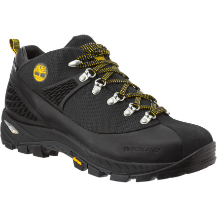 Camp and Hike Wear the Timberland Cadion 2.0 Mid Hiking Boot when you trek into the Teton range. These comfortable boots will keep your feet going mile after mile so you can focus on the view not on your feet. - $90.72