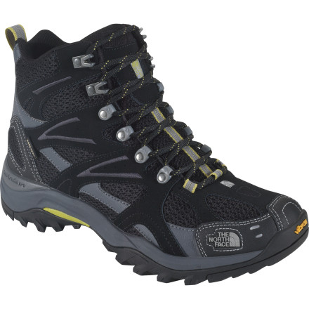 Camp and Hike When you step out on trail wearing The North Face Hedgehog Tall III GTX XCR Boot, you know you're well-prepared for whatever conditions you might encounter. Inside these supportive and cushioned boots you'll find lightweight comfort, durable support, and a Gore-Tex XCR waterproof breathable membrane to keep your toes dry and protected. - $90.97