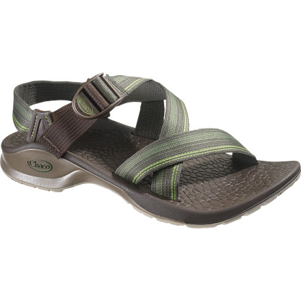 Entertainment Summer days spent navigating European alleyways, tracing distant shorelines, and searching for unoccupied hammocks require support, ventilation, and breezy comfort. Along the way, treat your toes right with the Chaco Men's Updraft Bulloo Sandal. - $60.47