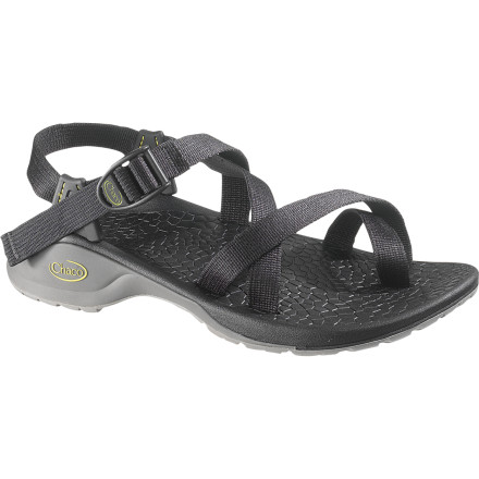 Entertainment Up the comfort and let a draft flow around your foot with the super-soft yet supportive Chaco Men's Updraft 2 Sandal. The LUVSEAT XO3 platform and secure straps keep your foot comfy as you walk, hike, or trot to and from the cool water on a hot summer day. - $71.47