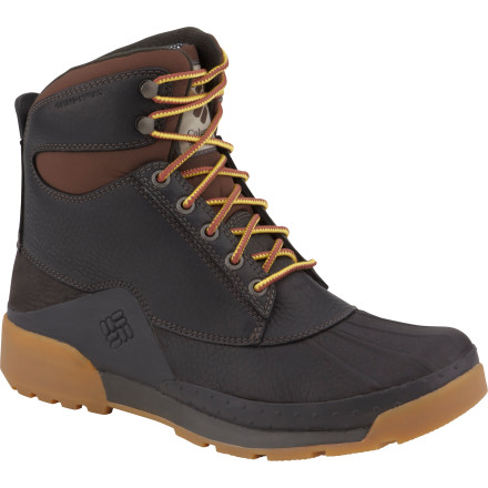 Brave cold winter weather with the Columbia Men's Bugaboot Original Omni-Heat Boot. Built to withstand frigid temperatures and sideways-blowing snow, the Bugaboot Original features a waterproof oil-treated leather shell, full grain upper, and Omni-Heat Reflective lining and insulation to keep your foot protected, cozy, and comfortable while you take care of business. - $83.97