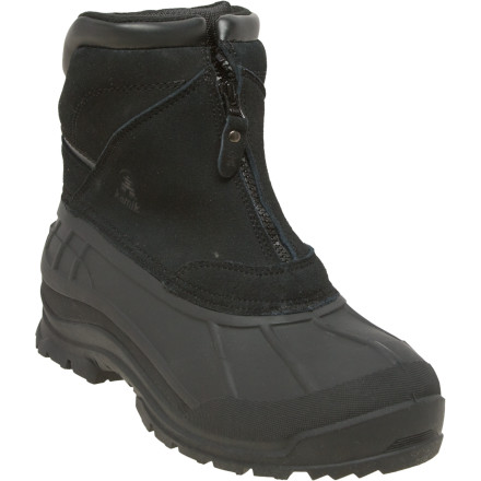When you're dealing with sub-zero temperatures and snow on a daily basis, you don't want to mess around; you want a boot like the Kamik Men's Champlain Boot. Your foot stays dry as a bone thanks to the rubber and waterproof suede of the upper, while 200g Thinsulate insulation delivers warmth in the coldest conditions. - $55.97