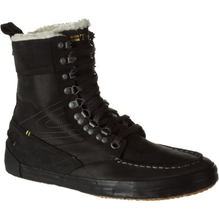 You don't want your feet to freeze, but you also don't want to lug around what feels like concrete bricks on your feet. The Tretorn Highlander Vinter Boot offers a hybrid design that combines the best of boots and sneakers for comfort during winter commutes or treks through the park. - $98.97