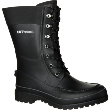 The Tretorn Bomanbeck Boot combines sleek Swedish style with the waterproof protection of rubber boots. Wear this understated boot to slog to work through sleet and rain, knowing that if you're suddenly seized by the desire to jump in a puddle you can count on staying dry. - $107.96