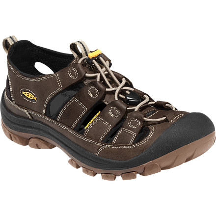 Entertainment The KEEN Glisan Sandal combines the freedom and breathability of a sandal with the extra protection of a trail sneaker. - $119.95