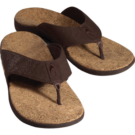 Ski After a winter of jamming your feet into ski boots and heavy winter shoes, give your feet a break with the Sole Casual Flip Sandals. These flip-flops are carefully sculpted with real cork to give your feet a cush ride and a great look. - $43.42