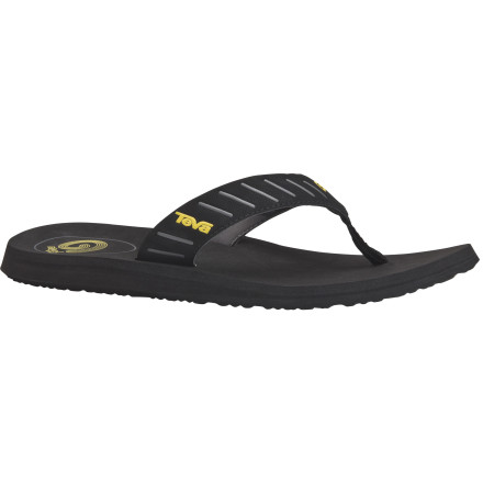 Surf When you slip the Teva Mush Sola Sandals on your feet, you'll feel like you're walking on air. The Mush soles conform to your feet so you get a barefoot feel. - $21.56