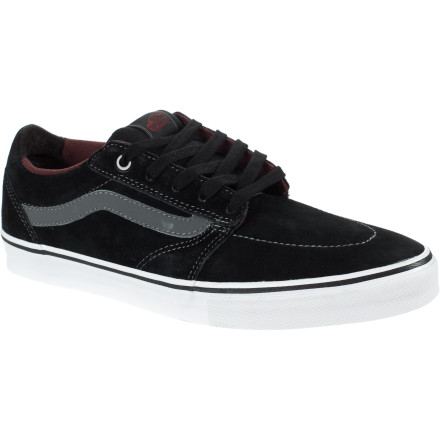 Skateboard The Vans Lindero Skate Shoe combines a semi-slim vulc profile with a lightly padded upper for an awesomely skateable mix of comfort, protection, and flexibility. - $51.96